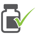 check bottle icon