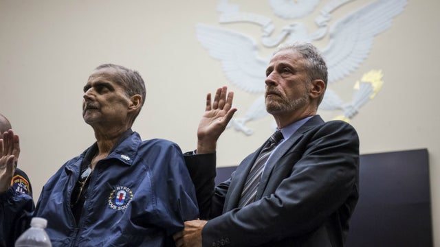 9/11 responder who testified with Jon Stewart moved to hospice care